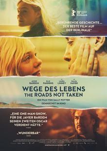 Home wegedeslebenstheroadsnottaken plakat 01 rgb a4 poster s