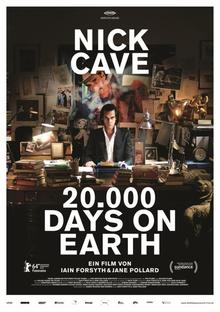 Home 20000 days on earth poster