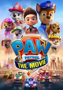 Home paw patrol  the movie poster s